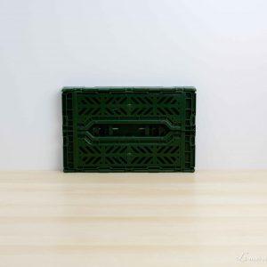 Caja mini color Khaki plegada - Aykasa