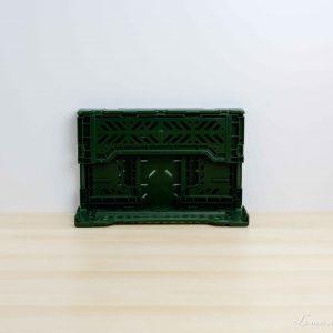 Caja mini color Khaki proceso plegado - Aykasa