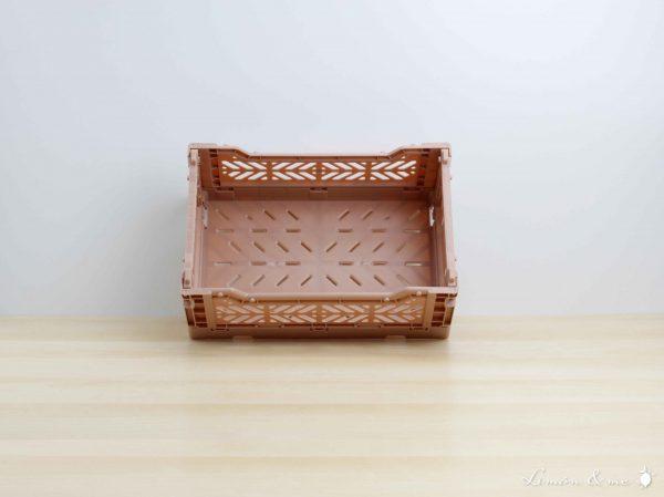 Caja mini color Warmtaupe - Aykasa