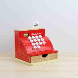 Caja registradora roja vintage de madera - Le Toy Van