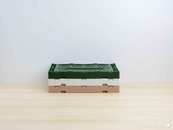 Cajas tamaño mini apiladas - Aykasa
