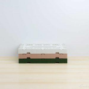 Cajas mini de colores apiladas - Aykasa