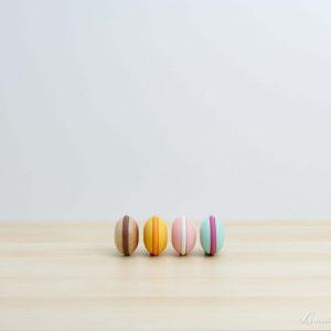 Macarons de sabores de madera - Le Toy Van