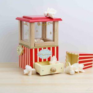 Máquina de palomitas vintage de madera - Le Toy Van