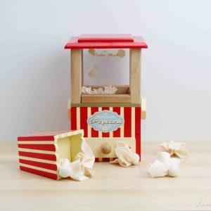 Palomitero de madera con palomitas de fieltro - Le Toy Van