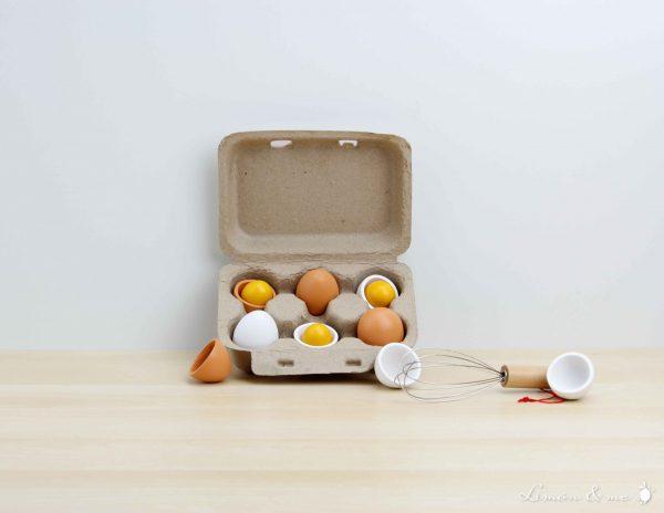 Huevera con huevos para batir - Small Foot
