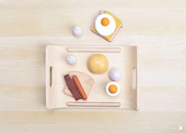 Bandeja de desayuno de madera - Plan Toys