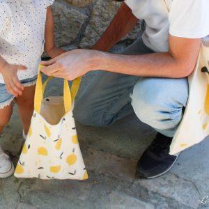 Bolsas de la compra infantil y adulto - Limón & me