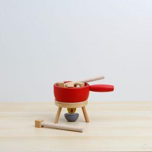 Set de fondue de madera - Erzi